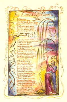 Little Girl Lost by William Blake