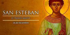 26 de Diciembre,  San Esteban