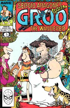 GROO THE WANDERER #8 FINE 1985 EPIC COMICS SERGIO ARAGONES