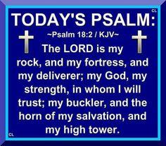 Psalms 18:2 KJV
