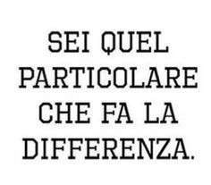 Sei quel particolare che fa la differenza!