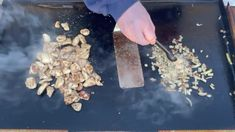 Bourbon Chicken and Rice on the Blackstone Griddle - My Backyard Life Hibatchi Recipes, Chicken Over Rice, Bourbon Sauce, Blackstone Griddle, Bourbon Chicken, Crushed Red Pepper, Rice Vinegar, Recipe For 4, Griddles