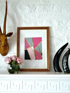 Frugal Living: 15 Free (or Nearly Free) DIY Ways to Fill & Refresh Your Framed Art via Apartment Therapy