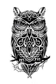 Quality Temporary tattoos large black owl arm fake transfer tattoo stickers hot sexy men women spray waterproof designs with free worldwide shipping on AliExpress Mobile Native Tattoos, Celtic Tattoos, Fake Tattoos, Body Art Tattoos, Sleeve Tattoos, Tattoos For Guys, Temporary Tattoos, Cross Tattoos, Skull Tattoos