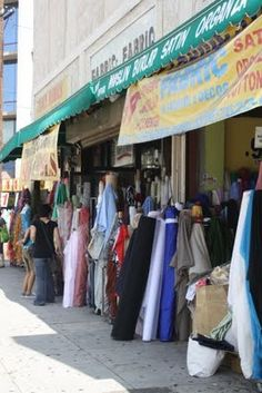 Fabric District, Downtown LA~only about 100 stores one after another! how can you not find much???!! I want to go!!!