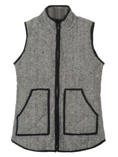 Gray Waistcoat .Put this fall must-haves into your wardrobe from CHOIES.COM.