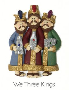 This is considered a basic ornament and can be ordered at any time!    I just love this ornament - WE THREE KINGS. There is lots of detail