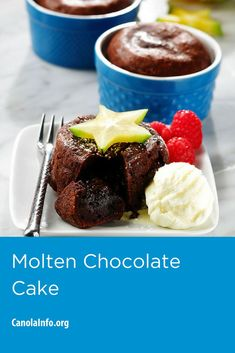 Cook Like a Chef! Baking along with the chefs from the Culinary Institute of Amerca. Try Molten Chocolate Cake.