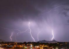 Many Bolts Single Shot June 11 2014 Thunderstorm Roanoke Virginia Lightning   Flickr - Photo Sharing!