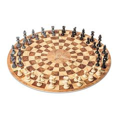 This three-player chess board.   23 Products For The Genius In Your Life