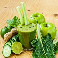 Smoothie-Rezept für einen Grünen Smoothie mit Apfel: So bereiten Sie einen gesunden grünen Apfel-Smoothie zu ...