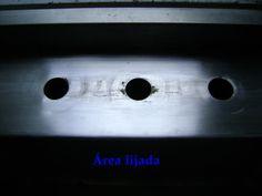 Trucos para el cambio de mezcladora en tarja fregadero - Aquí esta ya lijado y limpia el área de la mezcladora
