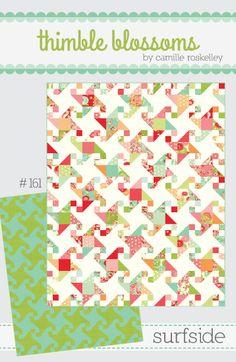 Surfside quilt pattern | Bloomerie Fabrics