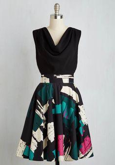 Posh Performance Review Dress