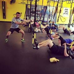 You know what time it is! It's almost noon and Felix @felix_trxsf will be teaching Body Blast to get you going for the week that's ahead of you. See you at the studio!! #TRX #trxtrainingcenter #earnyourbetter