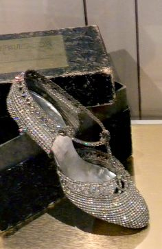 ~ Living a Beautiful Life ~ vintage 1920's ridiculously pretty shoes - Bata Shoe Museum - Photo by Ingrid Mida