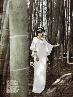 Brooding Forest Photography - Vogue Korea's 'Forest of Flounce' Spread Combines Nature and the City (GALLERY)