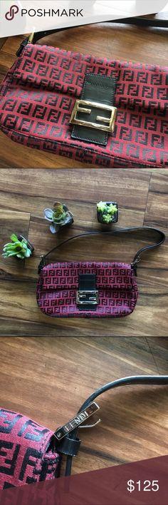 Spotted while shopping on Poshmark: Fendi Baguette Bag In Classic Zucca Canvas! #poshmark #fashion #shopping #style #Fendi #Handbags