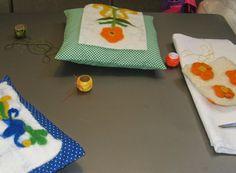 Lãs e sabão no Museu Machado de Castro - Dia 4, ultimar dos trabalhos