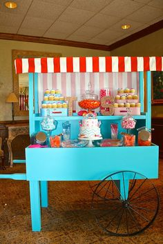 Candy Cart display Ruff Draft Papers