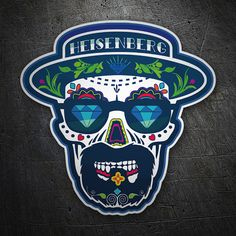 Pegatinas: Breaking Bad  Mexican Skull #BreakingBad #Vinilo #Pegatina