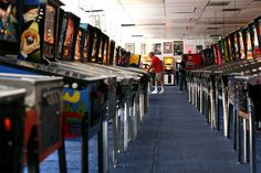 If you're into everything and anything retro, Pinball Hall of Fame in #Vegas has more than 100 pinball machines as well as all your favorite old-school arcade games.