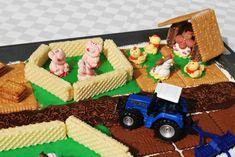 Bauernhof-Kuchen