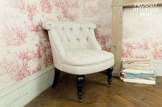 Fauteuil crapaud Douce Olympe