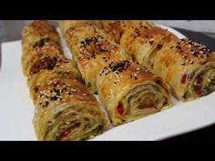 Patatesli Kahvaltılık Rulo Börek I Akşamdan hazırlayıp sabah pişirin veya difrize atin - YouTube