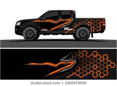 Similar Images, Stock Photos & Vectors of Truck Graphic. Abstract modern lines graphic design for truck and vehicle wrap and branding stickers - 1062326225 Jeep 4x4, Jeep Truck, Pickup Trucks, Ram Trucks, Ford Lobo, Stock Car, Mitsubishi Pajero Sport, Vehicle Signage, Nissan Trucks