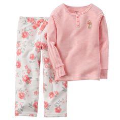 2-Piece Cotton & Fleece PJs   Carters.com - to match baby sister