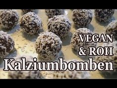 Marlon's Kalzium Bomben - Köstliche Kokos-Mohn Kugeln (Vegan & Rohkost) - YouTube