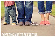 Cute pregnancy announcement!