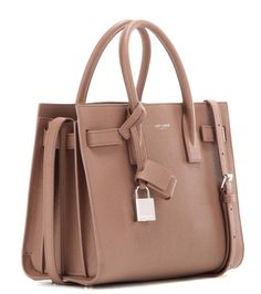 Sac De Jour Baby light brown leather shoulder bag