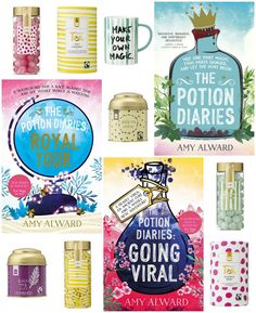 With Love for Books: The Potion Diaries Series by Amy Alward, Candy, Te...