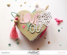 "Mini ""Love You"" mit Crate Paper ""Hello Love"" von Ulrike Dold Project Life, Crate Paper, Scrapbook Paper Crafts, Scrapbook Cards, Scrapbooking Ideas, Mini Albums, Mini Album Scrapbook, Diy Love, Tarjetas Diy"