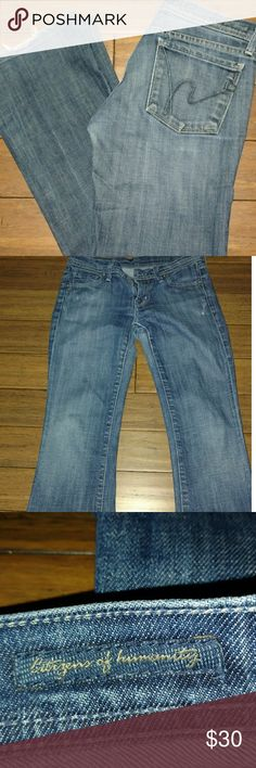 Citizens of humanity jeans Size 26 Ingrid stretch gently used Citizens Of Humanity Jeans