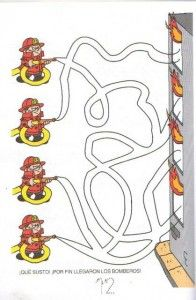fire safety week maze worksheet (1)