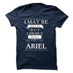 I LOVE ARIEL TSHIRT T Shirts, Hoodies, Sweatshirts - #geek t shirts #hooded sweater. ORDER HERE => https://www.sunfrog.com/Names/I-LOVE-ARIEL-TSHIRT.html?id=60505