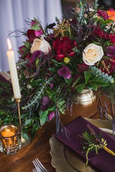 50 beautiful jewel tone hand bouquet ideas 7 - Beauty of Wedding Wedding Reception Decorations, Wedding Centerpieces, Wedding Table, Wedding Day, Berry Wedding, Tall Centerpiece, Luxe Wedding, Hair Wedding, Wedding Tips