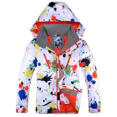 Gsou Snow Men Ski Jacket Thermal Thicken Windproof Waterproof Outdoor Sport Wear  Skiing Snowboard Male Clothing 0a837f8d1