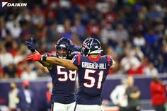 Nobody: Us: That way 🚨 Caption Contest Alert 🚨 Give us your best caption below! #DaikinLovesHouston The post Houston Texans: Nobody: Us: That way Caption Contest Alert Give us your best caption below!… appeared first on Raw Chili.