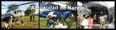 """DEPARTAMENTO DE NARIÑO, COLOMBIA - """"En 12 vuelos fueron entregadas un total de 34 toneladas alimentos al Resguardo Indígena Nulpe Medio del Municipio de Ricaurte"""". Entrar > http://ipitimes.com/gobernacion041513.htm .15 Abr 2013. (IPITIMES.COM ® /New York)"""