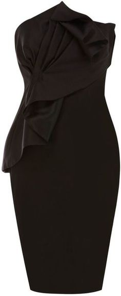 Coast Black Cocktail Dress - Lyst