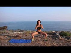 10 Minut HIIT na břicho, zadek, nohy | MonikaHIIT - YouTube Cardio Training, Workout Programs, Beach Mat, Hiit, Gym, Youtube, Outdoor, Beauty, Sports