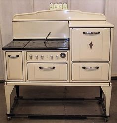 Wedgewood Early Combo Range.jpg provided by RMR Company, Inc.: Vintage Appliance Specialists San Diego