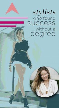 Stylists that found success without a degree - Fashion Stylist Jobs, Fashion Editor, Fashion Trends, Career In Fashion Designing, Fashion Merchandising, Fashion Portfolio, Portfolio Design, Fashion Moda, Fast Fashion