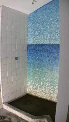 Kaleidoscope Color Shift Glass Mosaic Tile Gradient