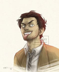 Lucifer!Cas by CaptBexx.deviantart.com on @DeviantArt