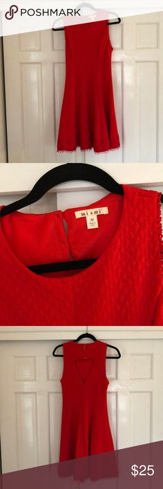 Red Dress Cute, flattering dress perfect for a bridal shower or wedding! miami Dresses